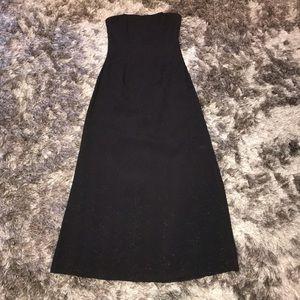 Jessica McClintock Maxi Dress.